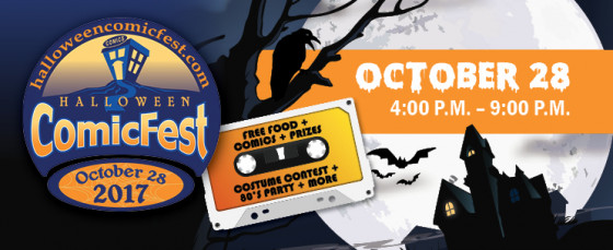 cc halloween comicfest at all 3 cc store locations weekend sales updated