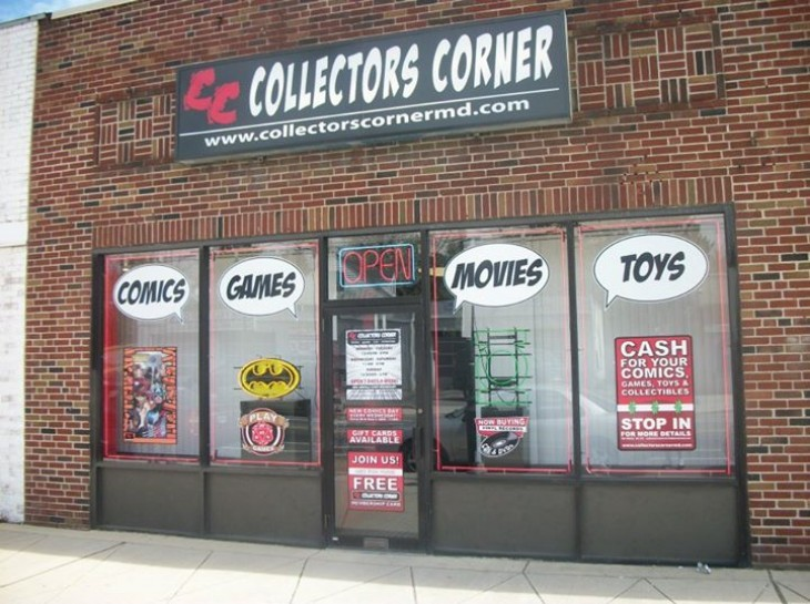 Collectors Corner - HQ 7911 Harford Rd. Parkville, MD